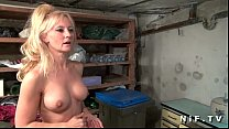 Big boobed french mature gets her ass pounded Thumbnail