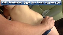 Oral Ace Live Chat - Barley Legal Teen Babe Bou...