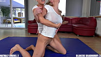 Two blonde Milf with huge Boobs in competitive Sex Fight