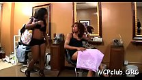 Very sexual white gal performs rodeo on large black knob - Download mp4 XXX porn videos