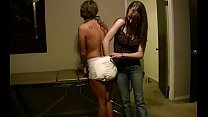 Amber Straitjacket Gagged Caged