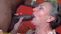 hairy 80 years  old granny first interracial t interracial