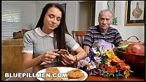 Image: BLUE PILL MEN - Young And Precious Petite Teen Kharlie Stone Takes Old Dick