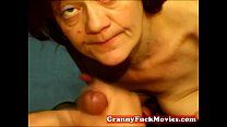 Amateur granny slut does POV />