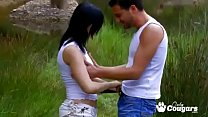 Angell Summers Gets Analized In The Woods thumbnail