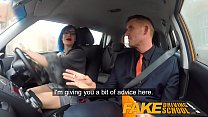 Fake Driving School Anal sex and a facial finish ensures driving test pass Preview