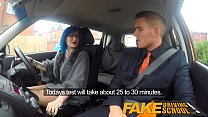 Fake Driving School Anal sex and a facial finish ensures driving test pass - 9Club.Top