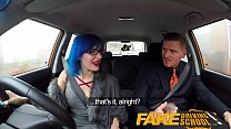 10014 Fake Driving School Anal sex and a facial finish ensures driving test pass preview