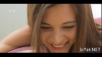 Solo angel pleases herself
