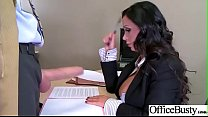 (Nikki Benz) Busty Office Girl In Hard Style Sex Action clip-20