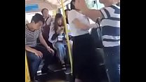 Cloth out in bus