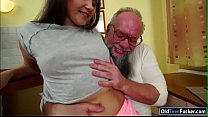 Russian Liza Shay licked sucks dick and fucked ...