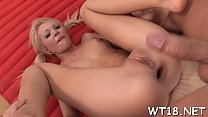 Teen nice-looking spreads for chap on hot girl porn videos