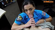 Ms police officer stuffed by horny pawn man to ...