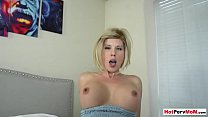 Waking up my stunning cougar stepmom with morni... Thumbnail
