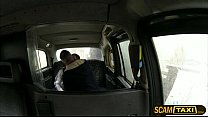 Pretty teen Lucie gets her pussy fucked by the cab driver for a free ride Vorschaubild