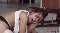 Teasing teen stepsister gets roughfucked