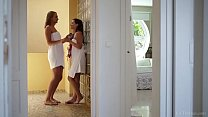 VivThomas - Anina Silk arranging a romantic trip with her girlfriend