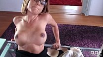 5526 Office Babe Rose Valerie gives colleague intense POV Footjob preview