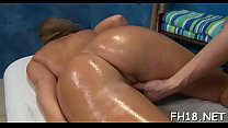 Dildo and one-eyed monster are permeating deep inside of her wet holes