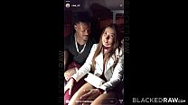 BLACKEDRAW French Girl Secret Hook Up With Two BBCs thumbnail