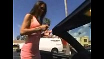 Doing Herself While Driving - And A Chance To Make Some $'s
