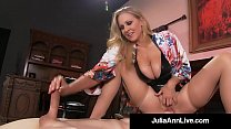 Boy Toy Gets Smothered By Glamorous Milf Julia ... thumb