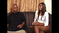 Superior well shaped ebony whore rides dick and gets a lot of cum on pretty face