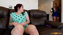 Miss Raquel Catches Maci May and her Sex Toys
