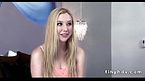 Real teen pussy streched Samantha Rone 1 41