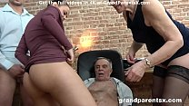 Senior Couple Fucks Hot Teen Couple