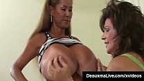 Sex Queen Milf Deauxma StrapOn Fucks With Busty Asian Minka! - 9Club.Top