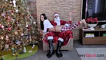 Dad Dresses Up As Saint Nick & Gives Daughter Some Dick- Ariana Marie