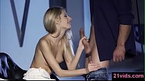 Image: Gorgeous blonde Rebecca Volpetti gets anal
