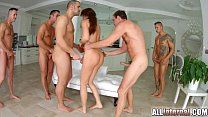 Tina Kay anal gangbang creampie on All Internal...