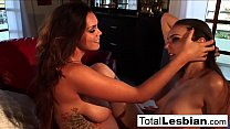 Busty babe Alison helps Tiffany get over a breakup