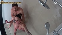 Cheating Wife Caught Banging Sons Friend in the Shower