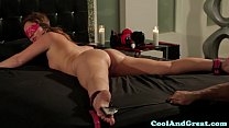 Restrained Maddy OReilly loving bondage play thumb