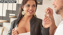 BITCHES ABROAD - Chloé Lamour & Ennio Guardi - Busty Slovakian Fucks Hard With Flat Owner