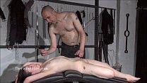 Brutal sub blowjobs and rough slave sex of play piercing masochist in submissive thumbnail