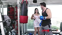 Screenshot Boxing Trainer Prefers Fucking Busty Babe Angel