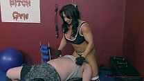 The Muscle Queen Brandi Mae Trains a Bitch to Worship Her - Femdom