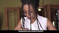 Submissived - Beautiful Ebony Queen Kira Noir G...