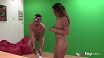 14967 Hi, brother, wanna porn? nAraceli gets it high on THE NAUGHTY BET. preview