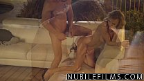 NubileFilms - Outdoor romance leads to hot fuck thumbnail