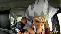 Star Whores The  Prick Stirs Inside The Taxica side The Taxicab For Another Ride