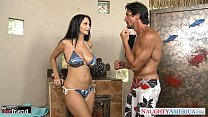 Brunette MILF Ava Addams gets big knockers fucked Thumbnail