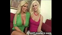 Busty MILF makes sure her daughter is fucked good