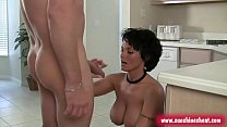 big boobs sexy milf lingerie sarah sunshine seiber thumbnail