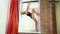 Tonja is a one flexible teen!